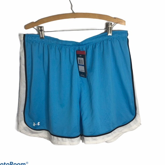 Under Armour Blue Gym Shorts NWT XL Heat Gear